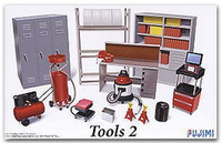 Garage Tools Set #2 1/24 Fujimi