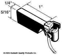 #1 Scale Coupler Straight Thicker Shank Kadee