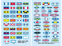 USS Missouri Signal Flags for Trumpeter Kit 1/200