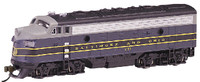 Baltimore & Ohio EMD F7A Diesel Locomotive N Bachmann Trains