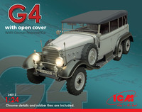 WWII G4 German Personnel Car 1/24 ICM Models