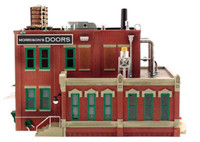Morrison Door Factory O Scale Woodland Scenics