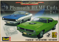 1970 Plymouth HEMI Cuda (2 in 1) 1/25 Revell Monogram