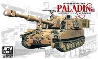 M109A6 Howitzer Paladin Tank 1/35 AFV Club