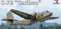 C-7B 'Caribou' US Amy Cargo Aircraft 1/144 A-Model