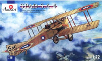 SPAD SA French WWI BiPlane Fighter 1/72 A-Model
