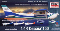 Cessna 150 Aircraft 1/48 Minicraft