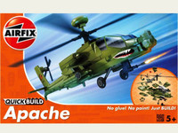 Apache Helicopter Snap Kit Airfix