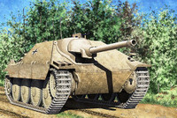Jagdpanzer 38(t) Hetzer Early Version Tank 1/35 Academy