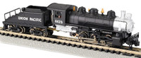 R-T-R Union Pacific #4425 USRA 0-6-0 Switcher Steam Locomotive & Tender (Black & Silver) N Bachmann Trains