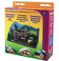Scene-A-Rama Complete Diorama Kit: Buildings Woodland Scenics