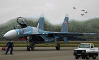 Russian Su27 Flanker B Fighter 1/144 Trumpeter