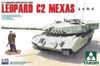 Leopard C2 MAXAS Canadian Main Battle Tank 1/35 Takom