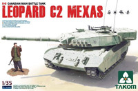 Leopard C2 MEXAS Canadian Main Battle Tank 1/35 Takom