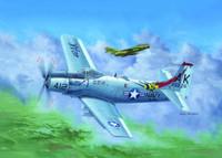 A1H AD6 Skyraider Aircraft 1/32 Trumpeter