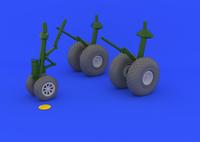 B-29 Superfortress Wheels for RMX 1/48 Eduard