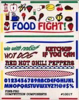 Food Fight Related To Foods Decal Pine-Pro