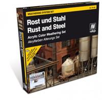 Rust & Steel Weathering Set Vallejo