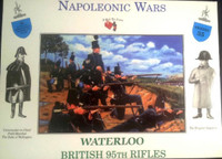 Napoleonic Wars: Waterloo British 9th Rifles (32) 1/32 Call to Arms