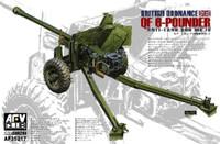 British Ordnance QF Mk IV 6-Pounder Anti-Tank Gun 1/35 AFV Club