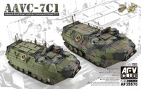 AAVC7C1 Assault Amphibian Vehicle Command 1/35 AFV Club