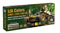 IJA Camouflage 1937-45 Model Air Paint Set (8 Colors) Vallejo Paint