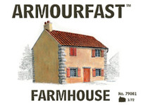 2-Story Farm House 1/72 Armour Fast