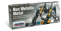 Non Metallic Metal Game Color Paint Set (8 Colors) Vallejo Paint