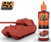 Red Acrylic Primer 60ml Bottle AK Interactive
