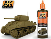 Olive Drab Acrylic Primer 60ml Bottle AK Interactive