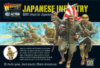WWII Bolt Action Series: Imperial Japanese Infantry (30) 1/56 Warlord Games