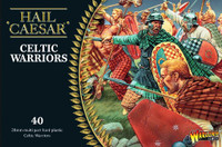 Hail Caesar Series: Celtic Warriors (40) 1/56 Warlord Games