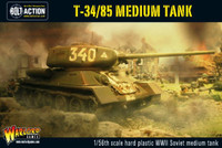 WWII Bolt Series: T34/85 Soviet Medium Tank 1/56 Warlord Games