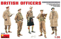 British Officers (5) 1/35 Miniart