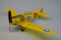 """AT6 Texan Rubber-Powered Aircraft (30"""" Wingspan) Dumas"""