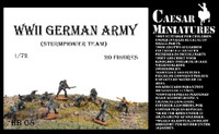 WWII German Army Sturmpionier Team (20) 1/72 Caesars Miniatures