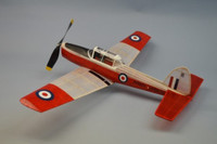 "DeHavilland Chipmunk Rubber-Powered Aircraft (30"" Wingspan) Dumas"
