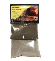 Buff Coarse Gravel Woodland Scenics