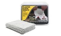 "8"" x 12"" Plaster Cloth Sheets Woodland Scenics"