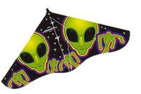 "42""x 22"" Aliens X Delta Wing Kite Gayla"