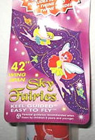 "42""x 22"" Sky Fairies Delta Wing Kite Gayla"