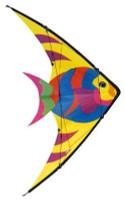 "48""x 26"" Tropical Fish Stuntmaster Nylon Kite Gayla"