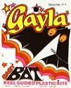"42""x 22"" Baby Bat Delta Wing Kite Gayla"