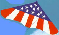 "42""x 22"" Spirit of America Delta Wing Kite Gayla"