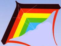"""48""""x 31"""" Stuntmaster Stunt Kite Gayla"""