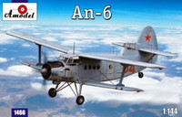 Antonov An6 Recon Aircraft 1/144 A-Model