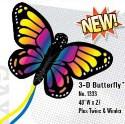 "48""x 27"" Butterfly 3-D Nylon Kite Gayla"