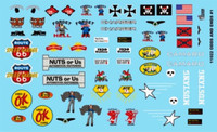 Odds & Ends Logos 1/24-1/25 Gofer Racing Decals