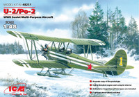 WWII U2/Po2 Soviet Multi-Purpose Aircraft 1/48 ICM Models