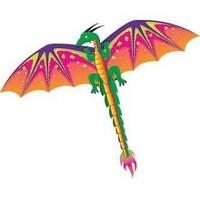 """55""""x 45"""" Dragon 3-D Nylon Kite Gayla"""